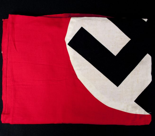 NSDAP flag in mint condition (with original paper tags still present!)