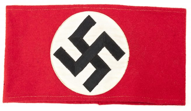 NSDAP wool Armband in very good condition