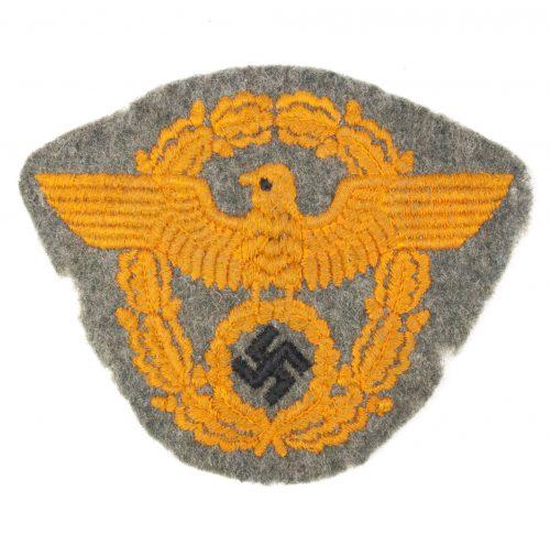 Polizei ärmelabzeichen Feldgendarmerie / Police Armeagle in orange