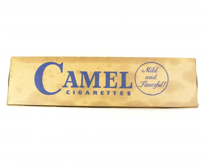 US WW2 Camel Cigarettes - Full box with 10 unopened packages!