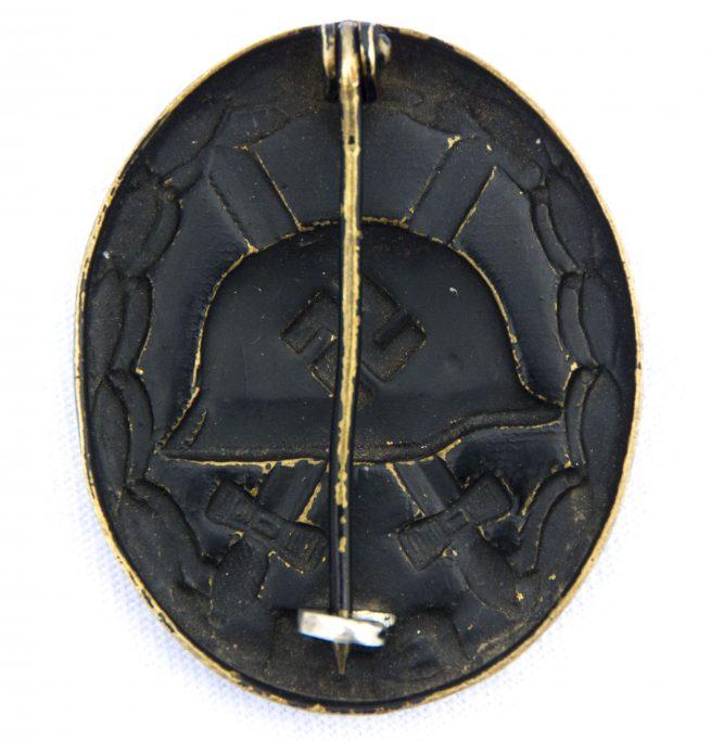 WWII Verwundeten abzeichen im Schwarz / Woundbadge in black