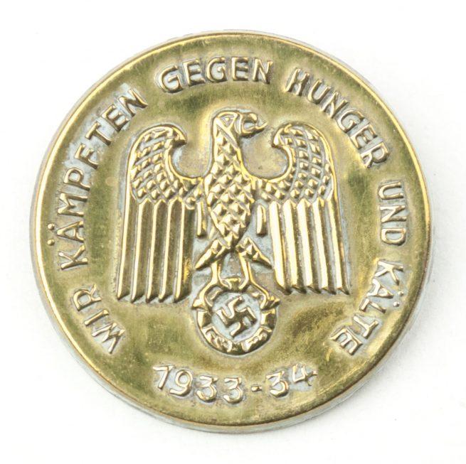 Wir Kämpften gegen Hunger und Kälte 1933-34 abzeichen