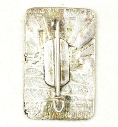 Deutsche Jugendherberge (DJH) badge - Jung Oden Waldclub Jugendtag 1930