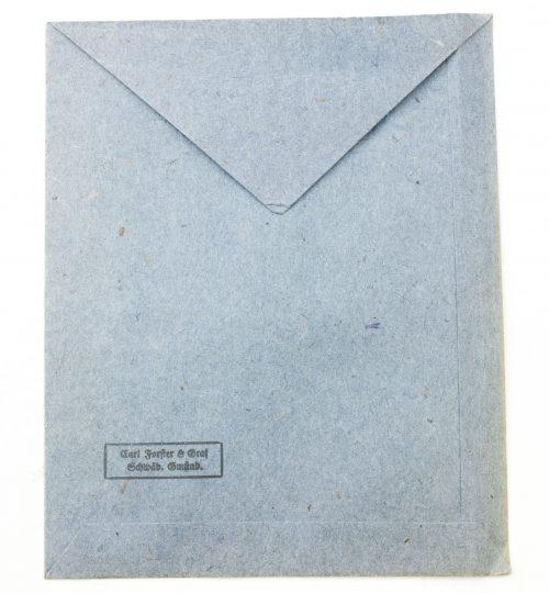 Iron Cross (EK2) bag / Eisernes Kreuz 2. Klasse tüte Karl Forster & Graf