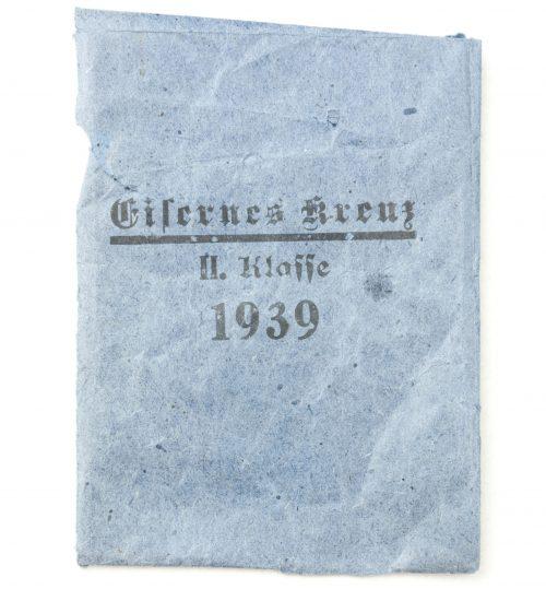 Iron Cross (EK2) bag / Eisernes Kreuz 2. Klasse tüte Rudolf Wächtler