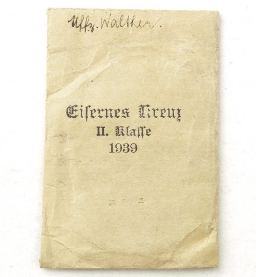 Iron Cross (EK2) bag / Eisernes Kreuz 2. Klasse tüte by Maria Schenkl Wien