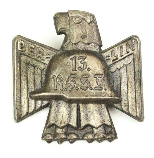Stahlhelmbund 13. R.F.S.B. (Reichsfrontsoldatenbund) abzeichen 1932