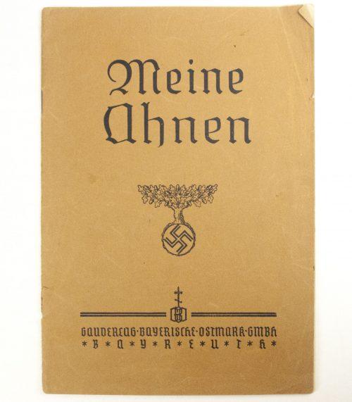 Ahnenpass - Meine Ahnen (Bayerische Ostmark, Bayreuth)