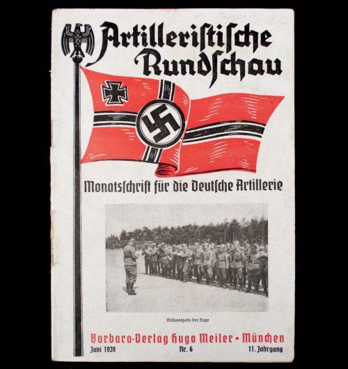 Artilleristische Rundschau Juni 1939 No.6