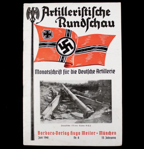 Artilleristische Rundschau Juni 1940 No.6