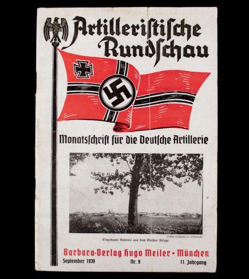 Artilleristische Rundschau September 40. No.9