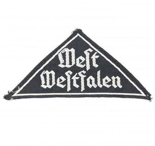 BDM triangle West Westfalen with RZM label