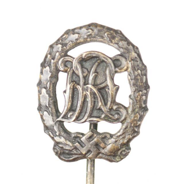 DRL Deutsches Reichssportabzeichen miniature stickpin in bronze