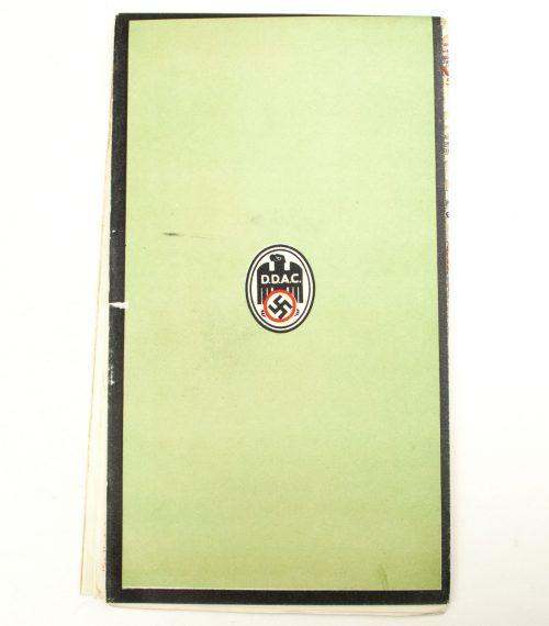 Der Deutsche Automobilclub (DDAC) - Strassenzustandskarte des Deutschen Alpenlandes (1939) 1