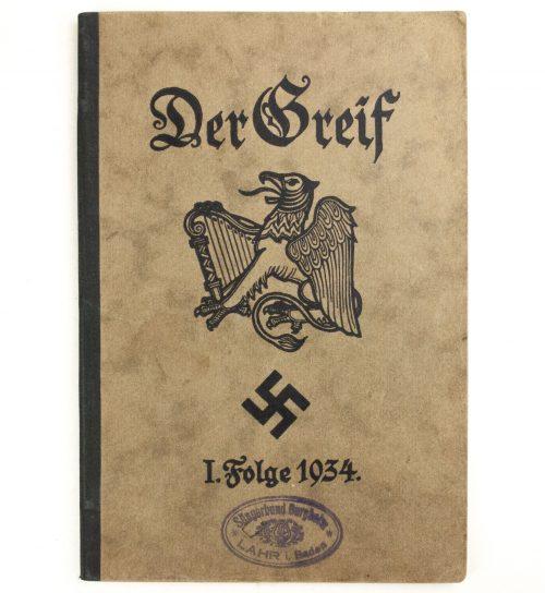 Der Greif - 1.Folge 1934