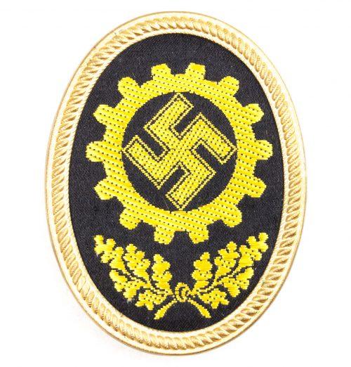Deutsche Arbeitsfront (DAF) - visor/cap insignia