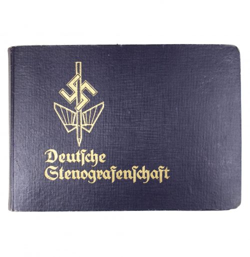 Deutsche Stenografenschaft ausweis booklet