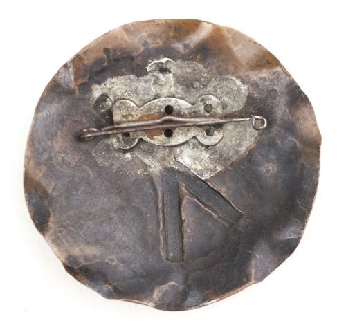 Dutch/German WWII female cultural rune brooch with Gebo-rune