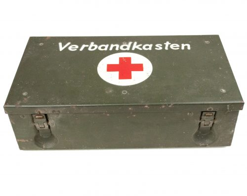 German Red Cross Verbandkasten with content