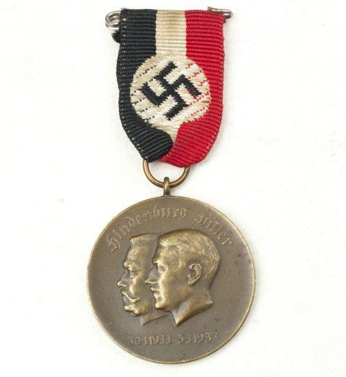 Hitler-Hindenburg elections medal 1933