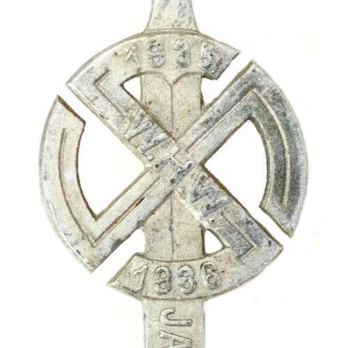 Jadestädte WHW 1935/1936 abzeichen (maker Steinhauer & Lück)