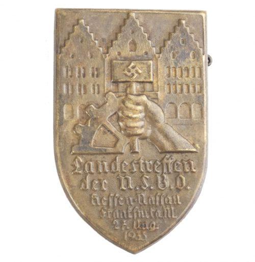 Landestreffen der N.S.B.O Hessen Nassau Frankfurt a.M 27 aug 1933