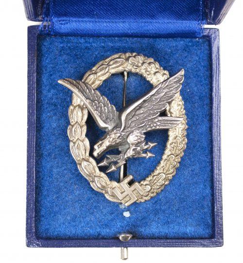 Luftwaffen Fliegerschützen abzeichen / Luftwaffe Airgunner badge (maker B&NL).