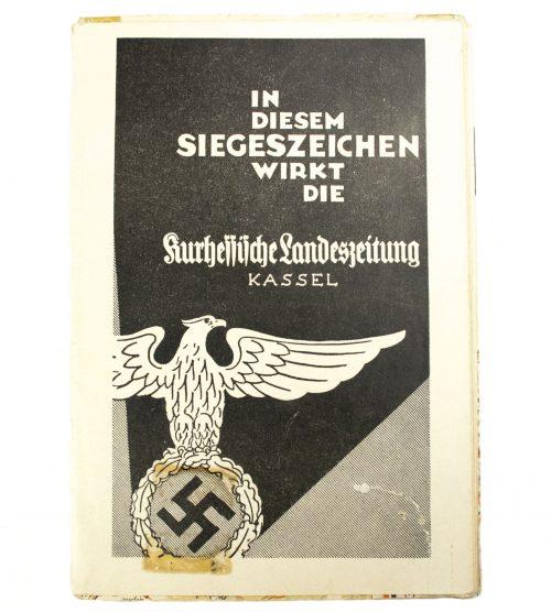 N.S.-Karte-Kurhessen-Kurhessische-Landeszeitung-map