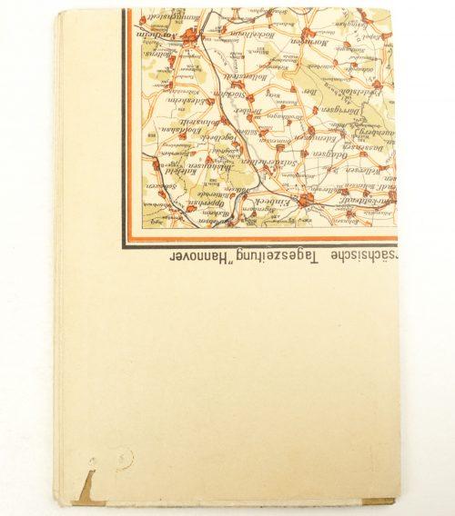 "N.S. Karte ""Kurhessen"" (Kurhessische Landeszeitung map)"