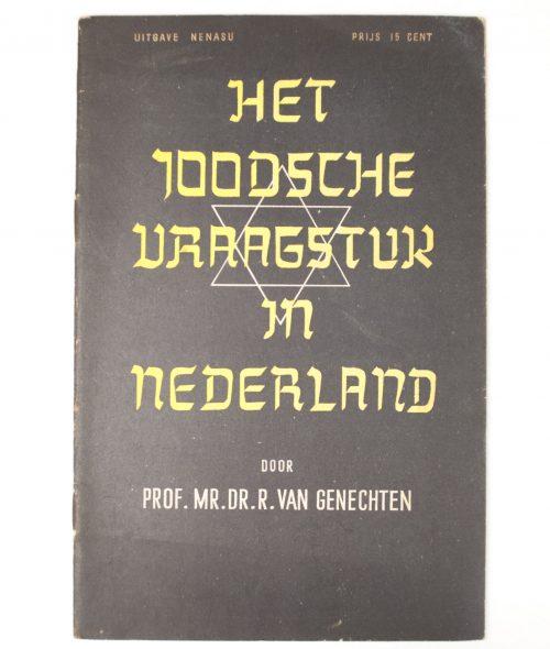 (NSB) R. van Genechten, Het Joodsche Vraagstuk In Nederland