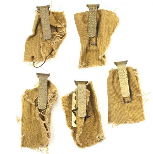 NSDAP uniform belthooks (set of 5)
