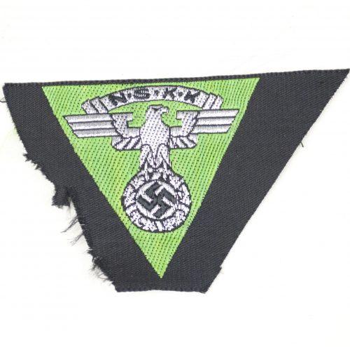 NSKK sidecap patch in applegreen for motor brigades Nordsee, or Westmark