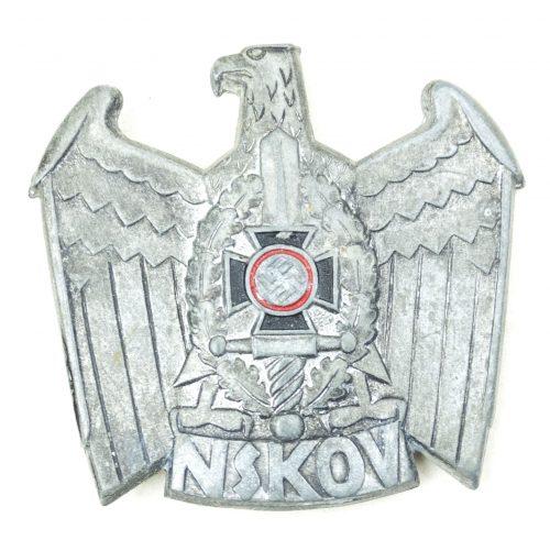 NSKOV eagle badge (maker marked RZM M1/42)