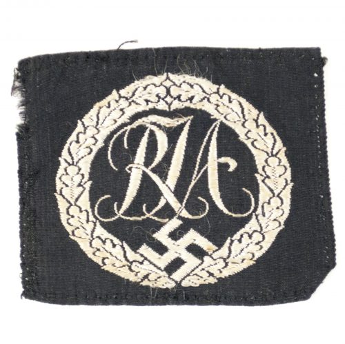 RJA sports Proficiency badge in cloth (Reichs Youth League)