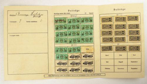 Reichsbund der Kinderreichen (RDK) E.V. Mitgliedsausweis