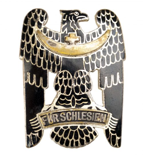 Schlesischer Adler 1e klasse mit emaille / Silesian Eagle enameled