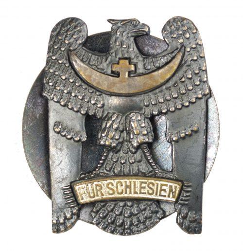 Schlesischer Adler mit Schraubscheibe / Silesian Eagle with screwdisc