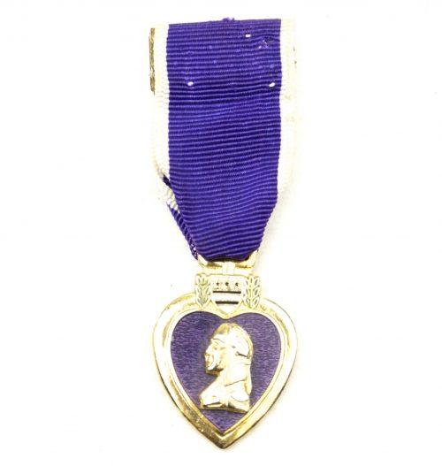 USA miniature Purple Heart medal