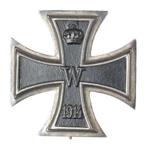 WWI Iron Cross first class (EK1) maker KAG