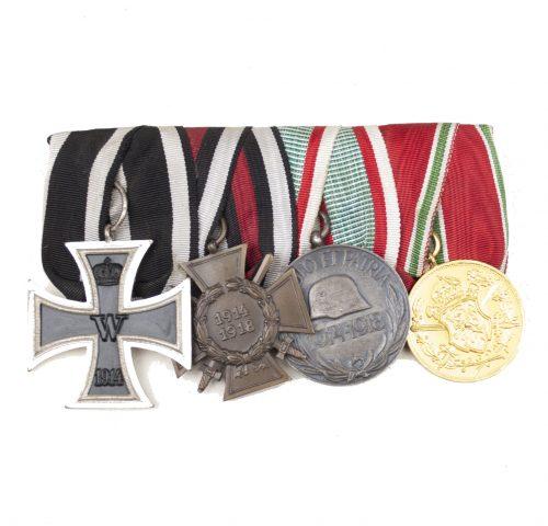 WWI Ordenspange / Medalbar (maker Ordens-Hocke Köln)