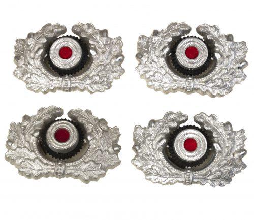 Wehrmacht (heer) visor cap wreath/cockade (mint!)