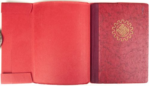 Deutsche Arbeitsfront (DAF) Mitgliedsbuch/memberbook + very rare cover
