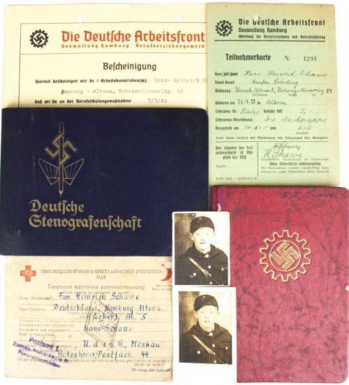 Deutsche Stenografenschaft + Arbeitsfront grouping