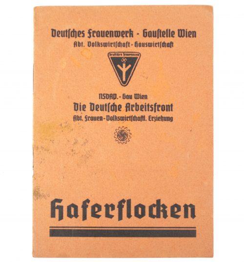Deutsches Frauenwerk Gaustelle Wien - NSDAP Gau Wien Die Deutsche Arbeitsfront