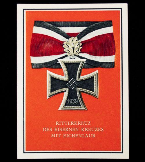 Die Kriegsorden des Grossdeutschen Reiches - Ritterkreuz des Eisernes Kreuzes mit Eichenlaub