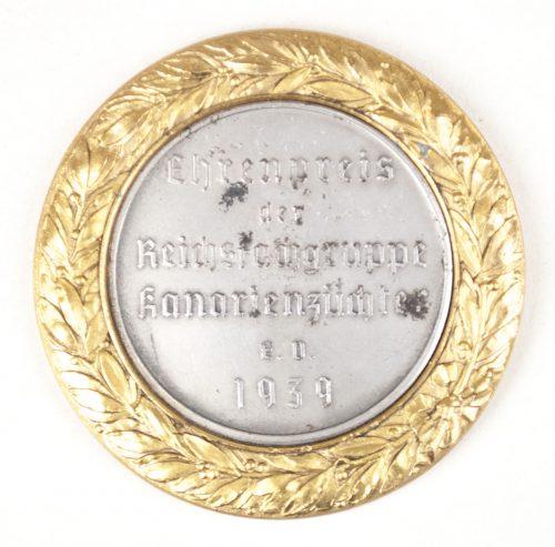 Ehrenpreis der Reichsfachgruppe Kanarienzüchter E.V. 1939