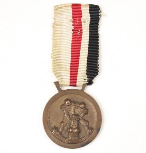 Italienische Feldzug in Afrika medaille