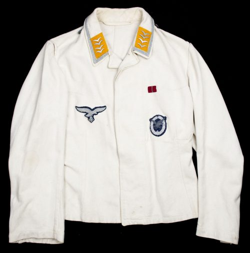 Luftwaffe Fliegerschützen white sommeruniform (jacket + trouwsers)