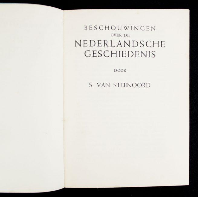 (NSB) Beschouwingen over de Nederlandsche Geschiedenis