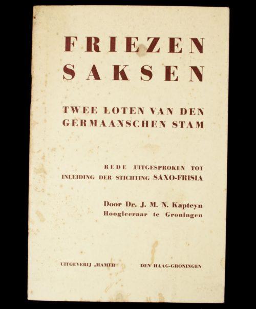 (NSB) Friezen Saksen twee loten van den Germaanschen Stam
